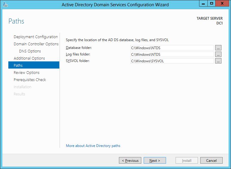 Windows Server 2012 - Настройка роли Active Directory
