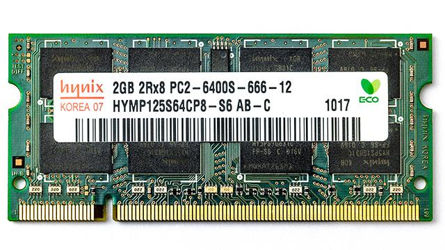 Hynix HYMP125S64CP8-S6 2Gb 2Rx8 PC2-6400S 666-12